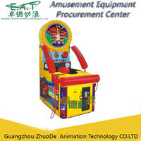 Crazy Boxing Coin Operated Arcade Machine, Test the Force of Boxing