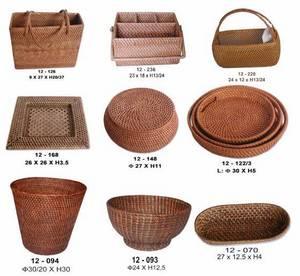 Wholesale handbags: Rattan Baskets