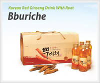 Korean Red Ginseng Drink with Root