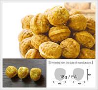 Walnut Cookie with Adzuki White Bean Paste(New)