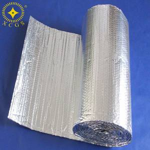 Wholesale reflective material: Reflective Fire-retardant Foil Bubble Insulation Material Thermal Heat Insulation