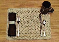 Yarn Placemat