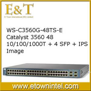 Wholesale server hard disk: Cisco Switch WS-C3560G-24TS-S WS-C3560G-24PS-S WS-C3560G-48TS-E WS-C3560V2-24TS WS-C3560X-24T-L