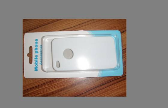 cell phone case: Sell plastic box with card for mobile phone cover packaging