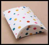 Small Paper Pillow Gift Boxes Wholesale 2