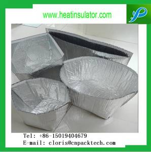 Wholesale Foil Containers: Double Bubble Foil Insulated Cold Pack Box Liner