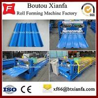 Metal Roof Sheet Color Steel Tile Roll Forming Machine Factory