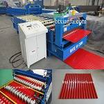 Trapezoidal Metal Roof Making Machine Color Steel Roof Machine