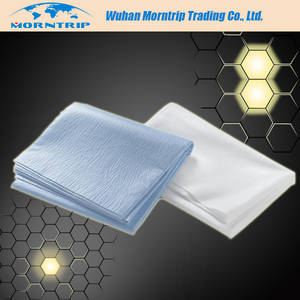 Wholesale nonwoven bed sheet: Disposable Waterproof High Quality Nonwoven Bed Cover with Elastic Band