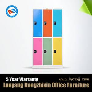 Wholesale used clothing dubai: High Quality 6 Door Metal Sports Clothes Locker,6 Door Locker