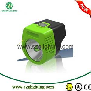 Wholesale mine explosion proof lamp: NEW GL3-A Magnetic USB Charger, 2.8Ah Cordless Cap Lamp