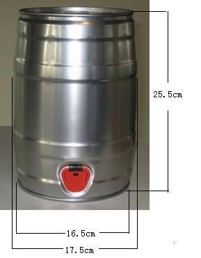 5 liter mini beer keg id 6792152 product details view 5 liter mini beer keg from qingdao. Black Bedroom Furniture Sets. Home Design Ideas