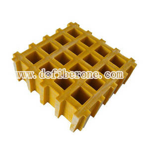Wholesale smc/bmc mould: Fiberglass Molded Grating for Walkway