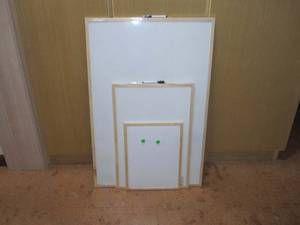 Wholesale magnetic white board: White Magnetic Board 60x90cm