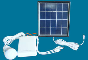 Wholesale Solar Energy Systems: Mini Portable Solar Power System