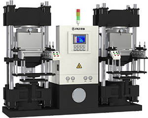 Wholesale work station: JINLEI  JLZ  Double Working Station Rubber Injection Machine
