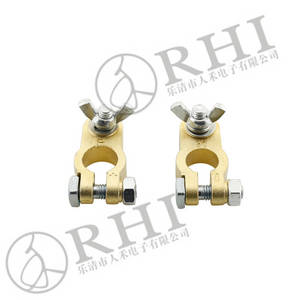 Wholesale automobile battery pack: Brass Battery Clamps