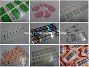 Wholesale customized design labels: Custom Design Adhesive Labels Printing