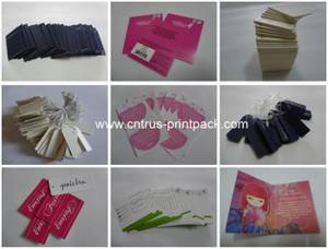Wholesale hang tag: Small Jewelry Hang Tags with String