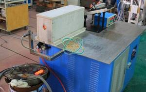 Wholesale brass extrusion line: Medium Frequency Induction Heating Machine (Auto Feed)