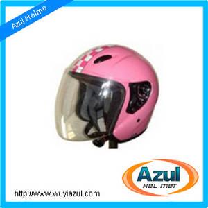 Wholesale motorcycle: Double D-ring Half Face Motorcycle Helmet