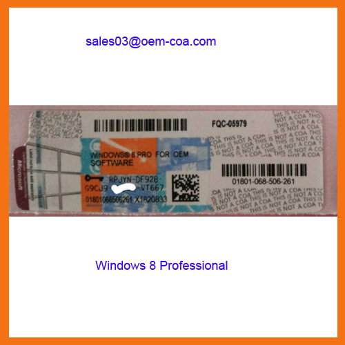 Windows 8 1 professional key windows 8 1 pro oem coa for Window 8 1 pro product key
