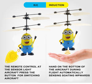 Wholesale flying toys: Induction Toys Easy To Be Operated RC Flying Aircraft Character Remote Control Toys