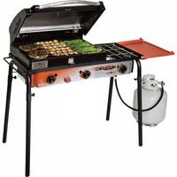 Camp Chef Big Gas Grill - 3-Burner Stove with Deluxe Grill Box