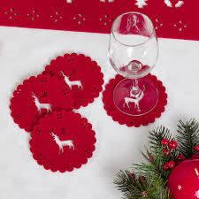 Wholesale laser cut: Laser Cut Felt Christmas Ornaments