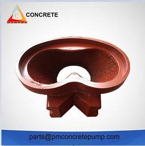 Wholesale trucks spare parts: Concrete Pump Spare Parts Schwing M Rock Valve for Schwing Truck-Mounted Concrete Pump
