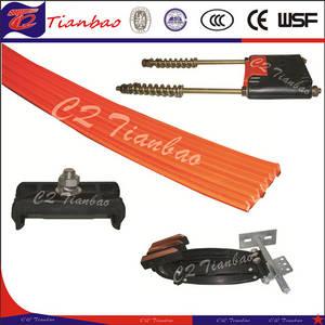 Wholesale crane rail: Flexible Insulated Conductor Rail Copper Busbar for Crane