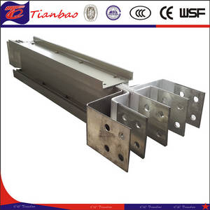 Wholesale busbar trunking: Low Voltage Sandwich Aluminum Busbar Trunking System/Busway