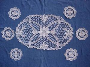 Wholesale embroidery: Set of Tea-set Cloth