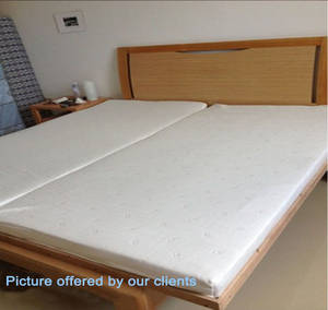 Wholesale mattress covers: Folding Latex Mattress with Fabric Cover