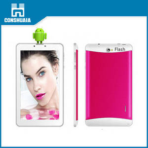 Wholesale 3g tablet pc: 7inch Tablet PC with 3G Phone Call/Camera Flashlight