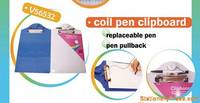 Sell coil pen clipboard
