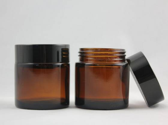 Perfume Bottles: Sell 50g glass jars with lids, large glass jars