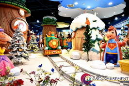 Wholesale the battery: Cross the Snow Valley, Mini Train, Kids Electric Train, Battery Train in Amusement Park