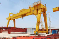 Lifting Double Girder Gantry Crane Design for Sale