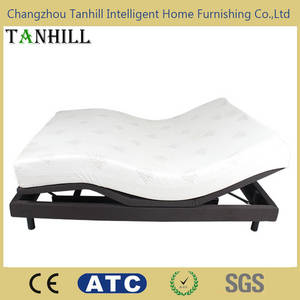 Wholesale electric bed: American Standard Adjustable Bed Mechanism with Electric Massage