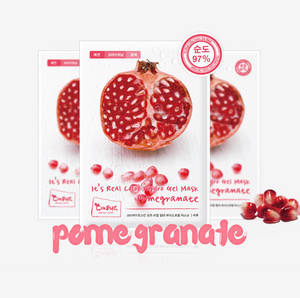 Wholesale color toner: Its Real Hydro Gel Mask [pomegranate]