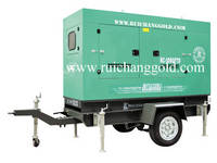 100 Kva Cummins Trailer /Mobile/ Trolley Diesel Generator