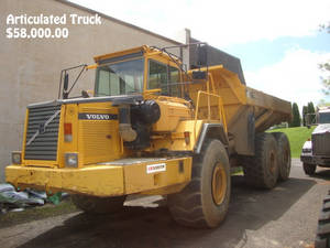 Wholesale Used General Industrial Equipment: Articulated Trucks