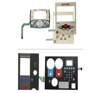 Wholesale membrane switches: Control Keypad Metal Done Panel Membrane Key Board Switch
