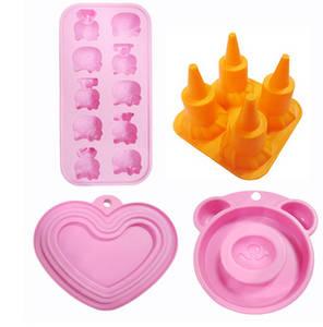 Wholesale Bakeware: Food Grade Silicone Cake Ice Baking Mould Ice Tray Chocolate Mold