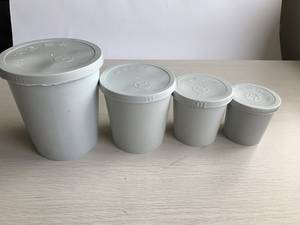 Wholesale Car Care Products: Plastic Mixing Cups with Lids