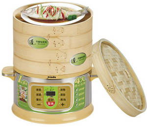 Wholesale Food Steamers: Bamboo Electric  Steamer