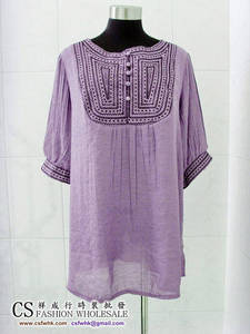 Wholesale mid: Women's Tops - Apparel 9091-75