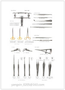 Wholesale tc tweezer: Instrument for Cleft Lip and Cleft Palate (Set I)
