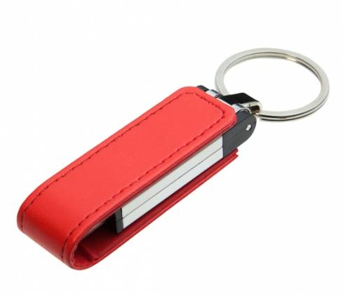 printing services: Sell Promotional Leather USB Memory with Data, Printing Logo Service